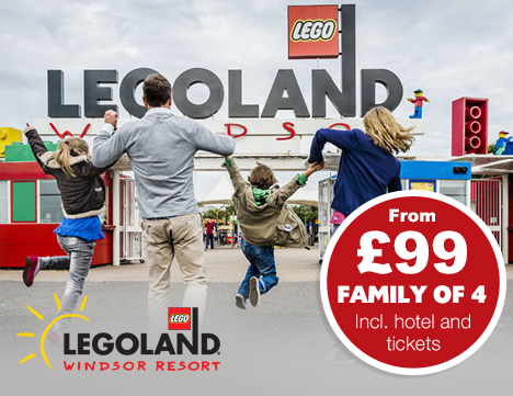 Budget Family Breaks To Legoland Windsor