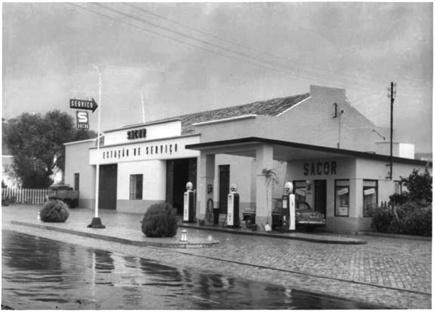 La sede de Siesta Campers en 1955 en el garaje de Sacor en São Bras de Alportel.