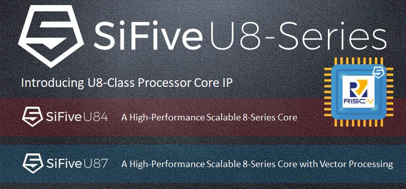 SiFive U84 & U87 Standard Core IP