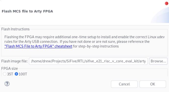 FPGA Flash Utility