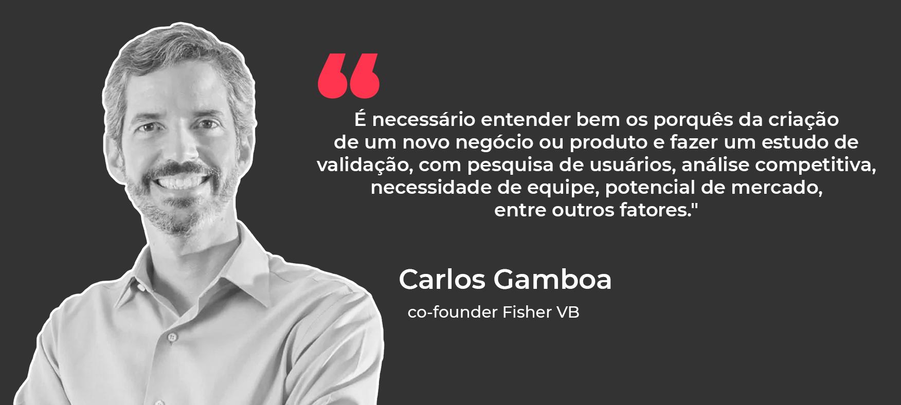 Carlos Gamboa, co-founder Fisher VB