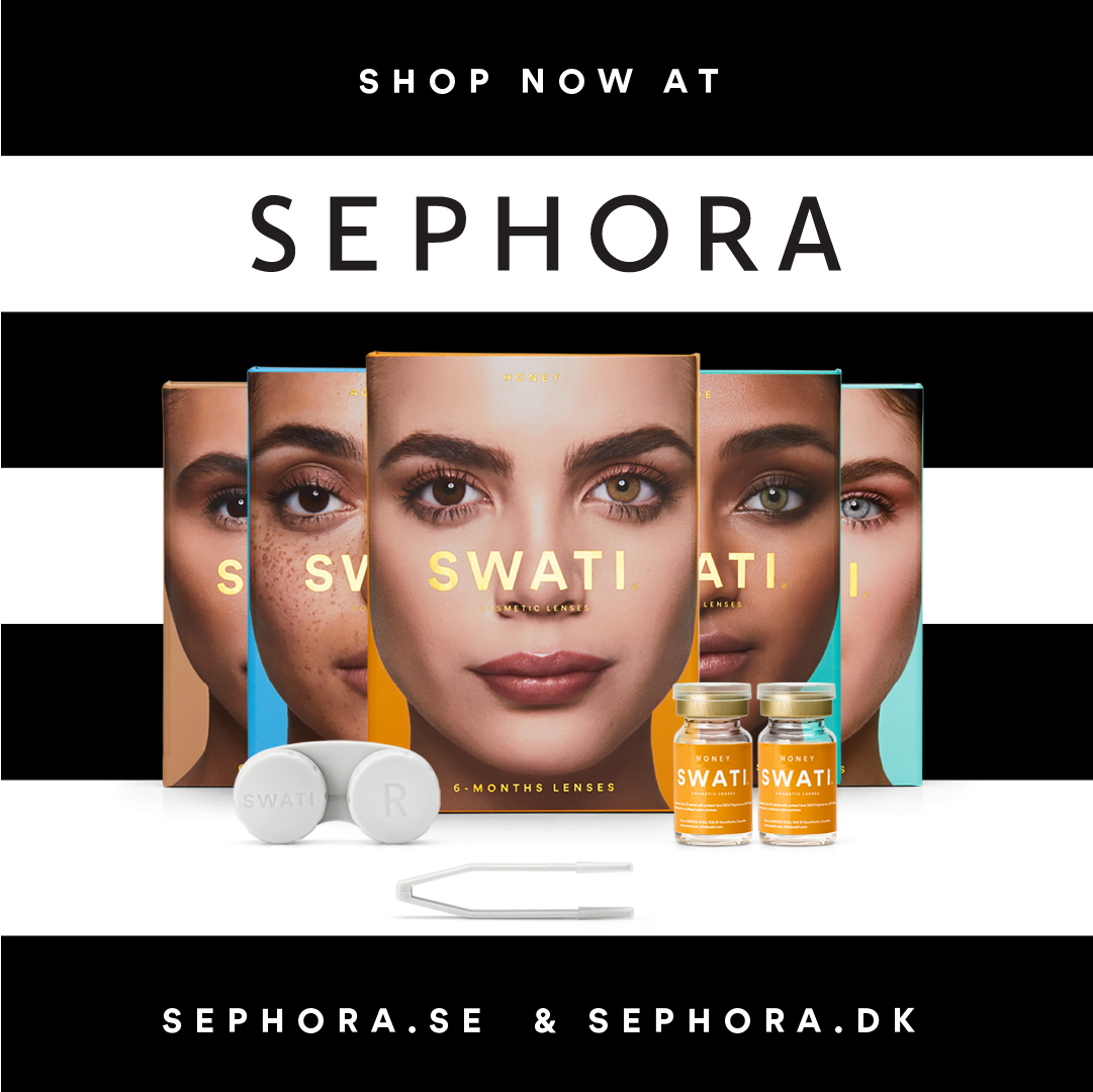 SWATI Cosmetics now available sephora.se and sephora.dk