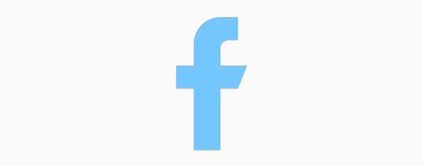 Tappable Facebook logo