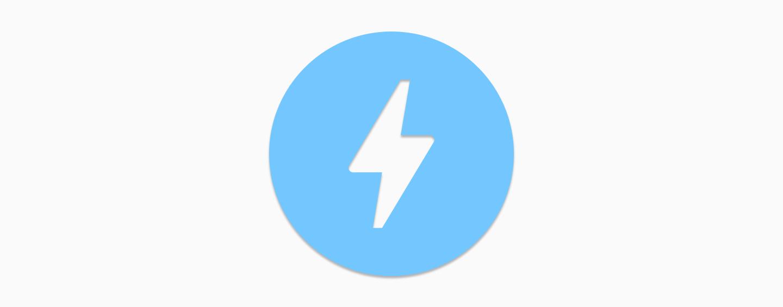 Tappable Google AMP Logo