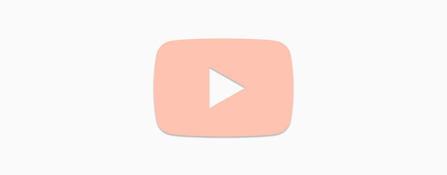 Tappable Youtube logo