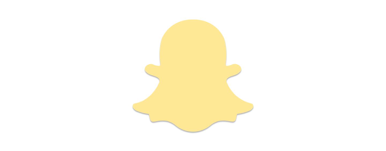 Tappable Snapchat logo