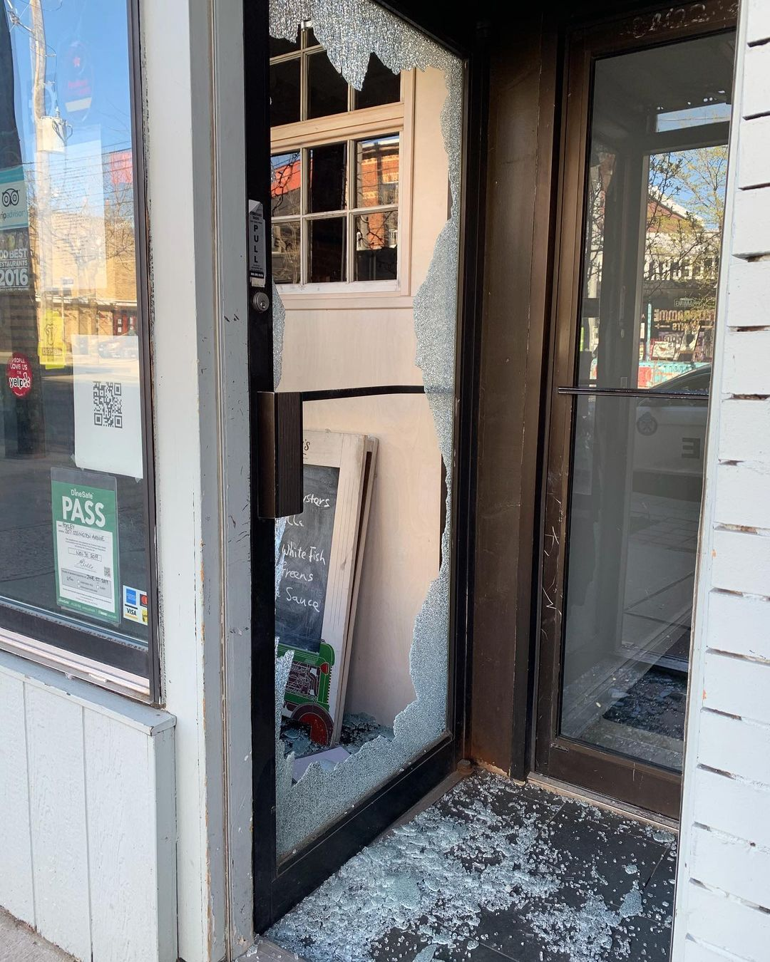 Foxley Ossington, restaurant break ins
