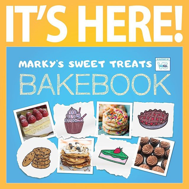 Support Childhood Cancer Awareness Month with Marky's Sweet Treats Bakebook