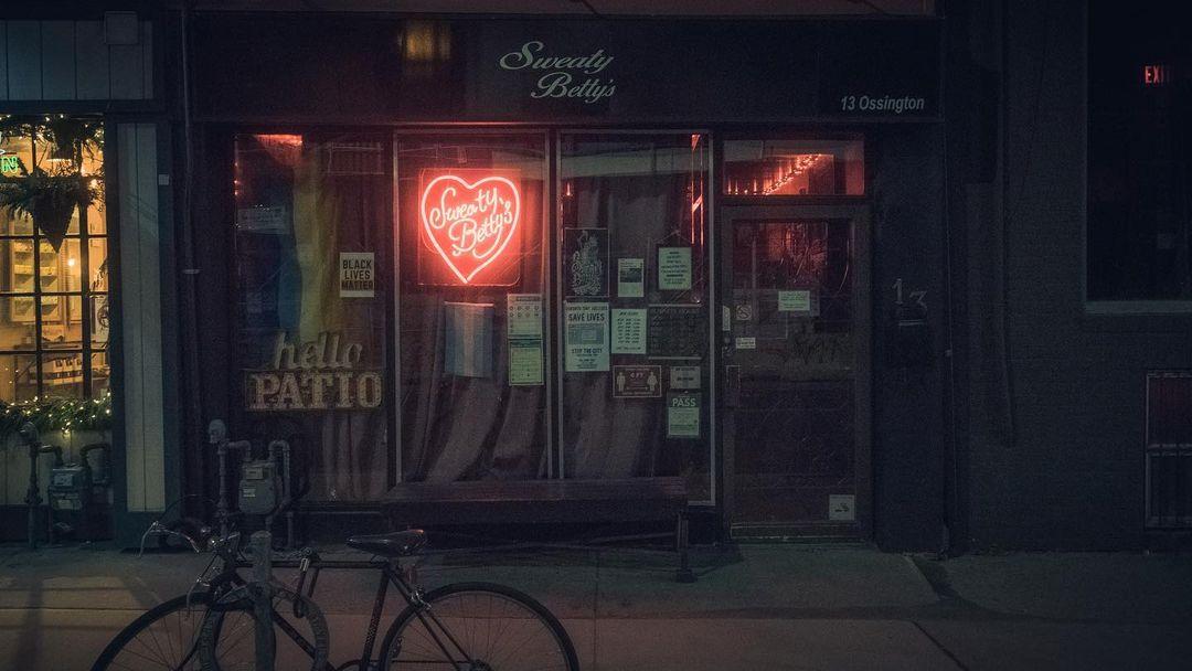 Sweaty Betty's Bar