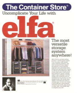 Big Moment in History: We Acquired elfa, Our Best-selling Product!