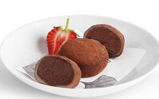 Chocolate Mochi, Japanese dessert with global taste. Photo: YourCook.