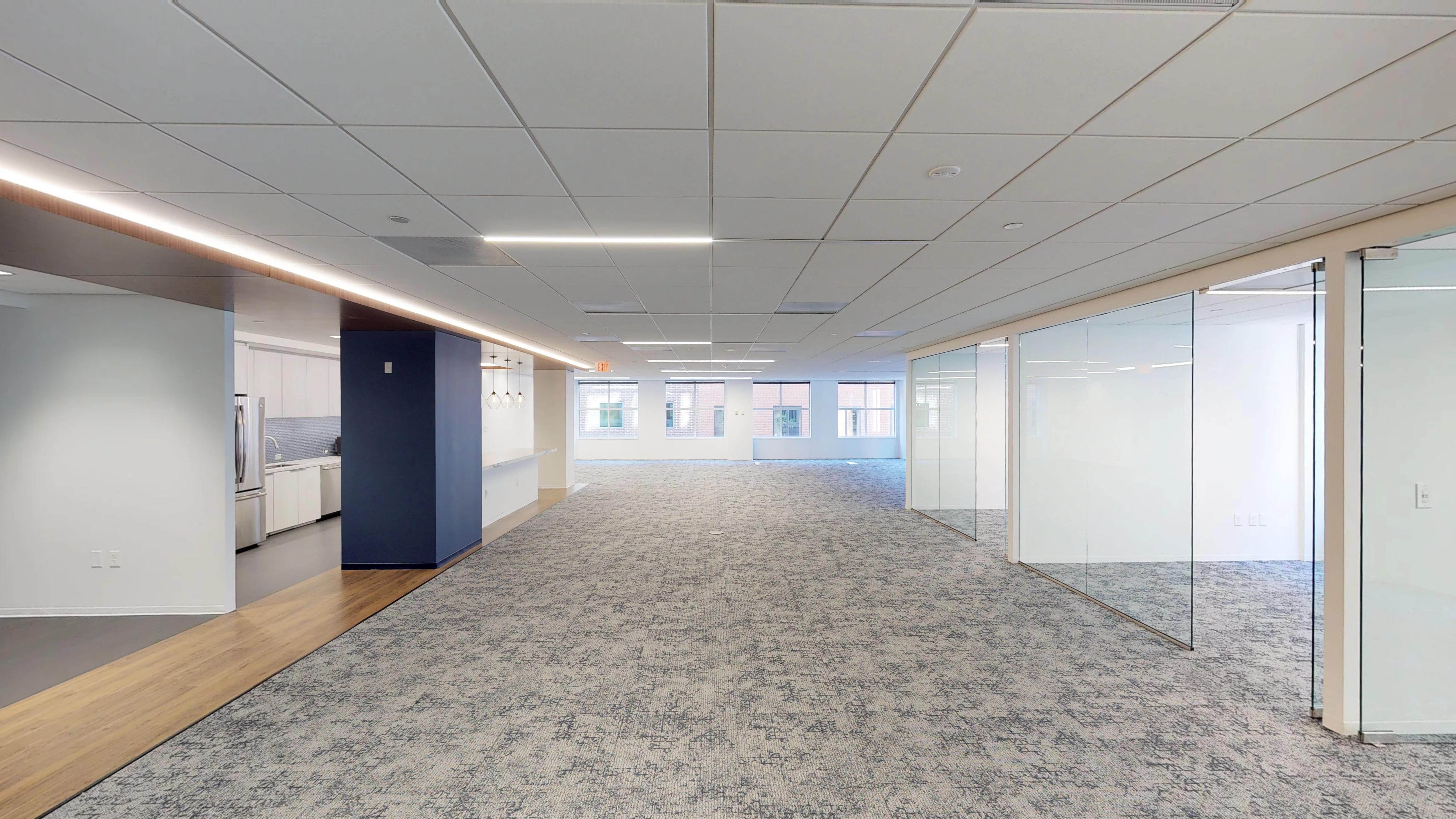 Downtown Washington, D.C. open office space with private offices - Truss