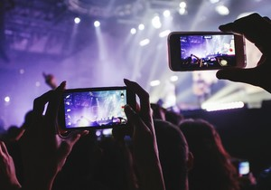 Doing it for the 'gram: Should phones be banned at gigs?