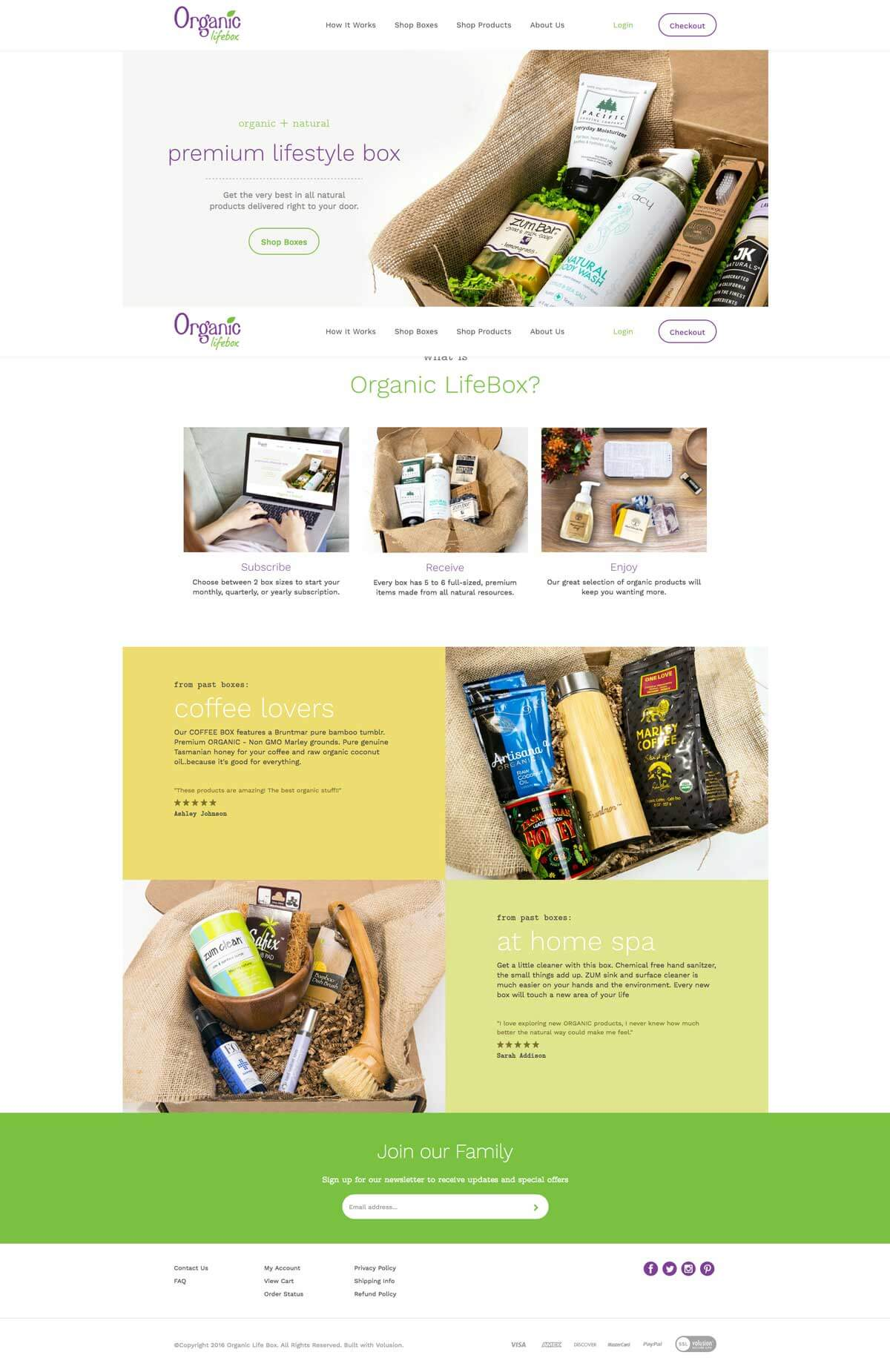 Organic LifeBox