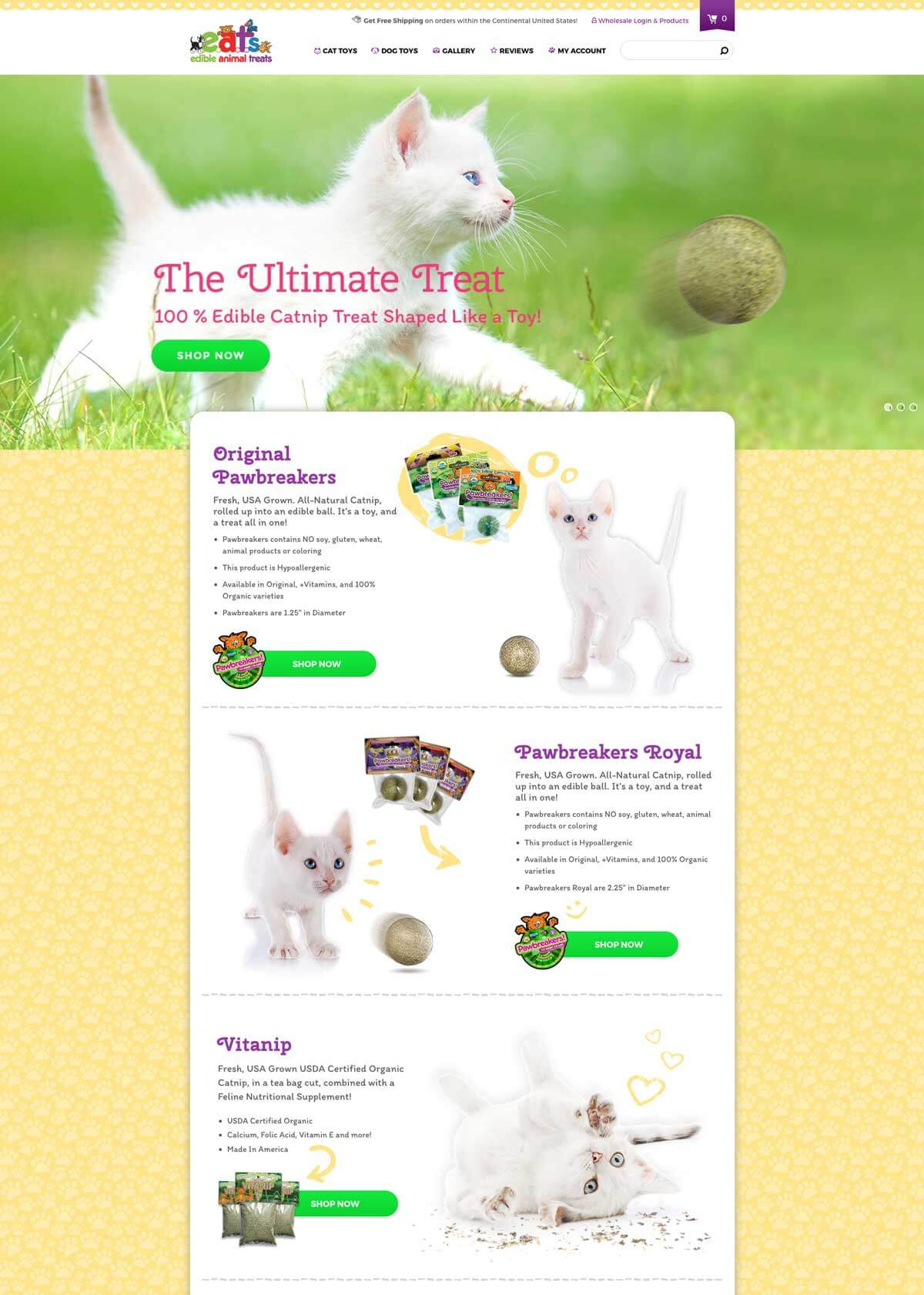 Edible Animal Treats