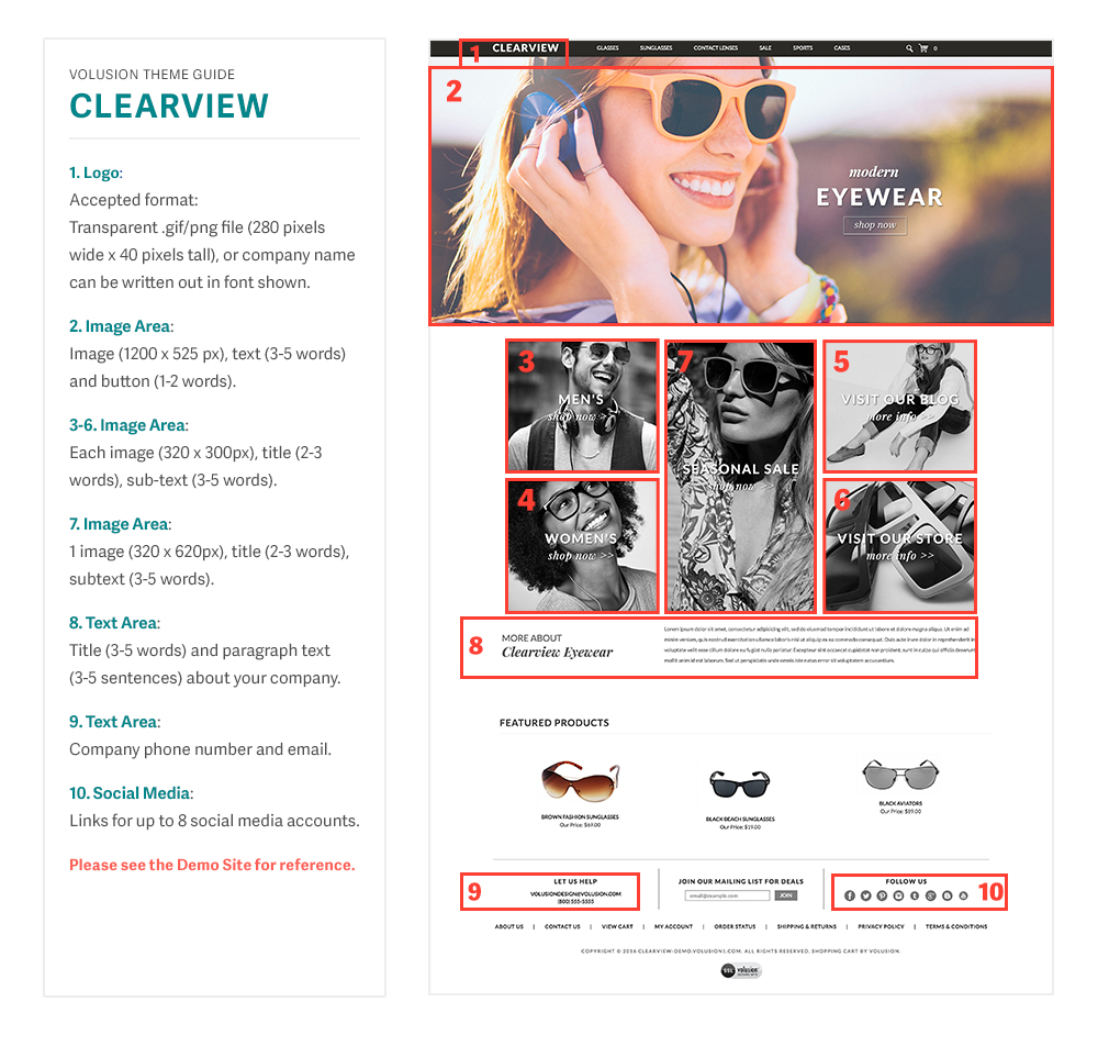 related Clearview templated image