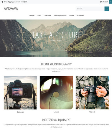 Panorama thumbnail