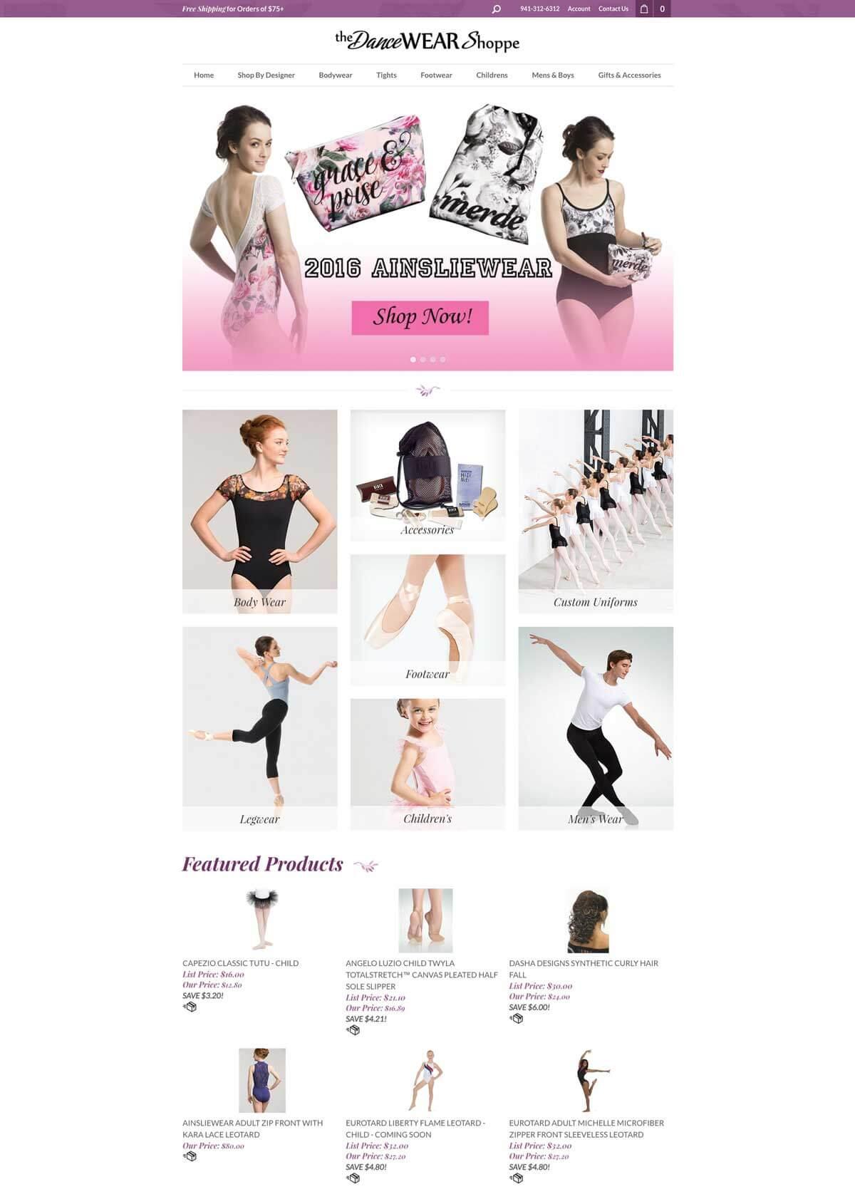The Dancewear Shoppe
