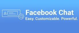Facebook Chat by Powr logo