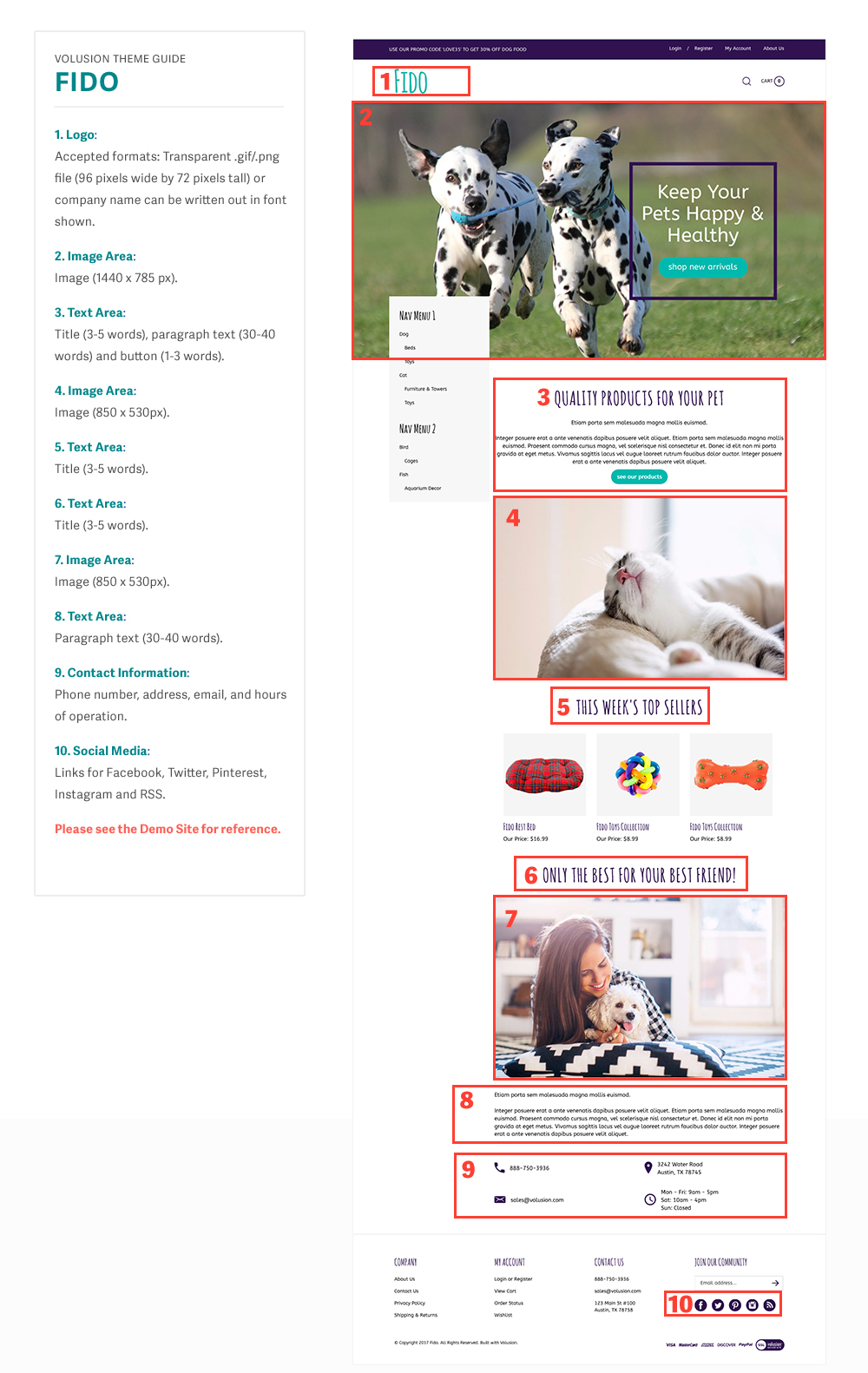related Fido templated image