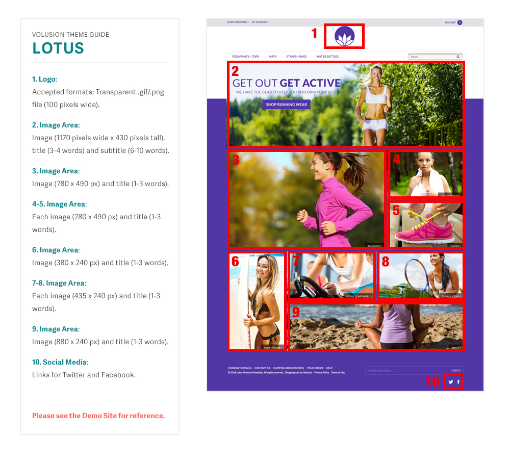 related Lotus templated image