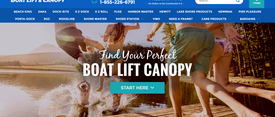 Boat Lift & Canopy Advanced SEO Case Study thumbnail