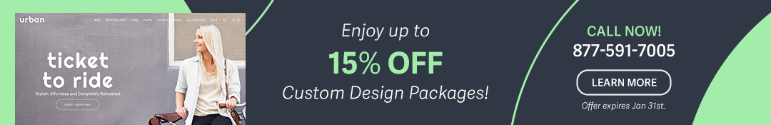 Happy New Year: 15% Off Custom Designs