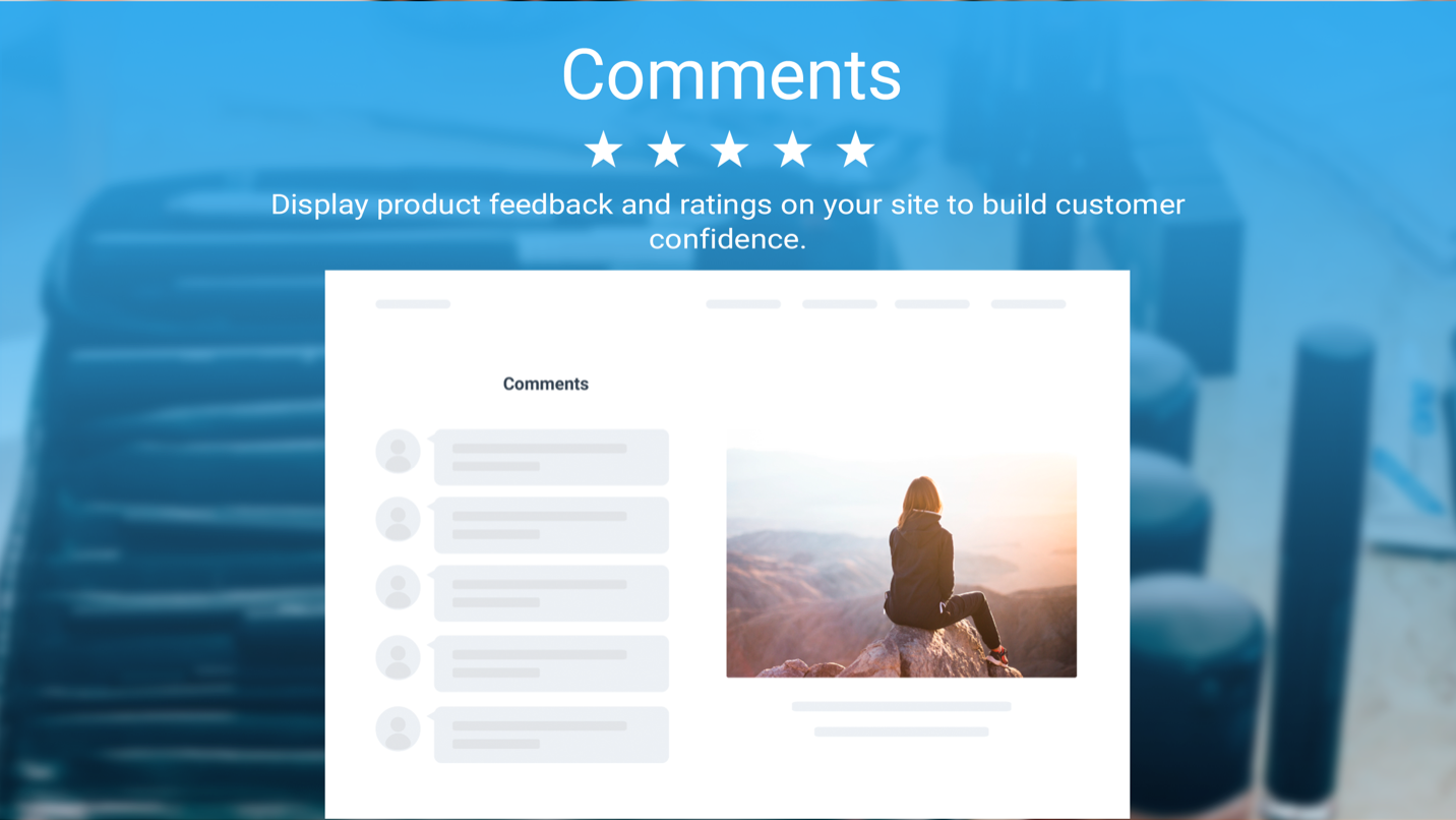 Comments by Powr screenshot