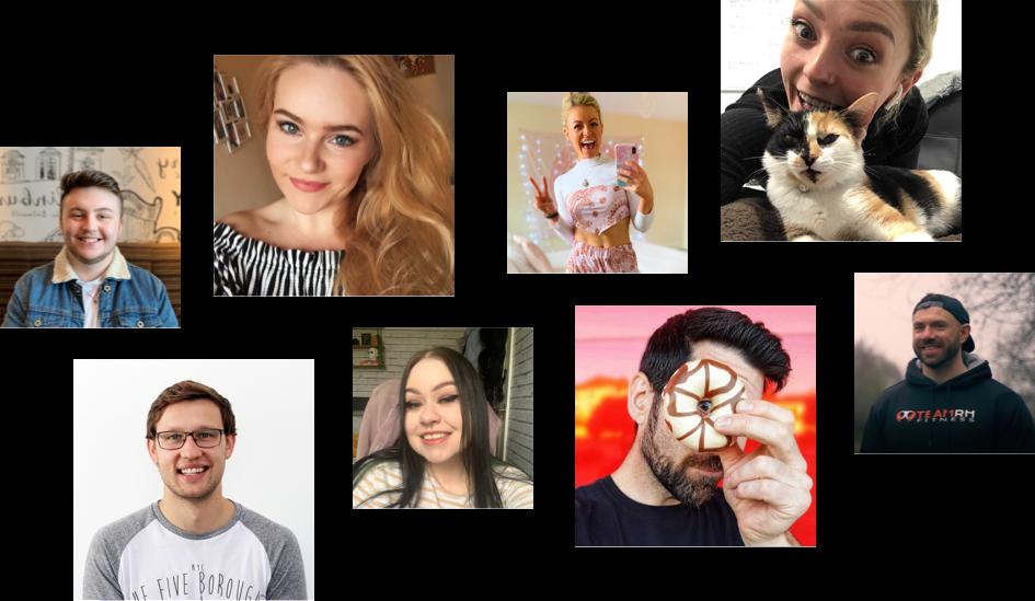 Team collage
