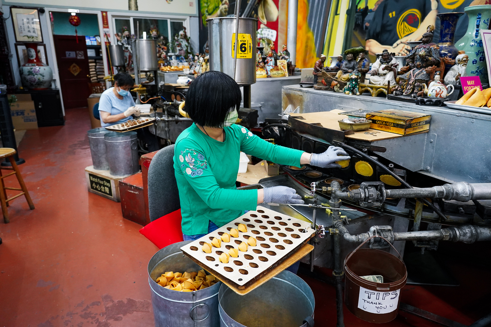 Fortune Cookie Factory on Barbary Coast Trail San Francisco