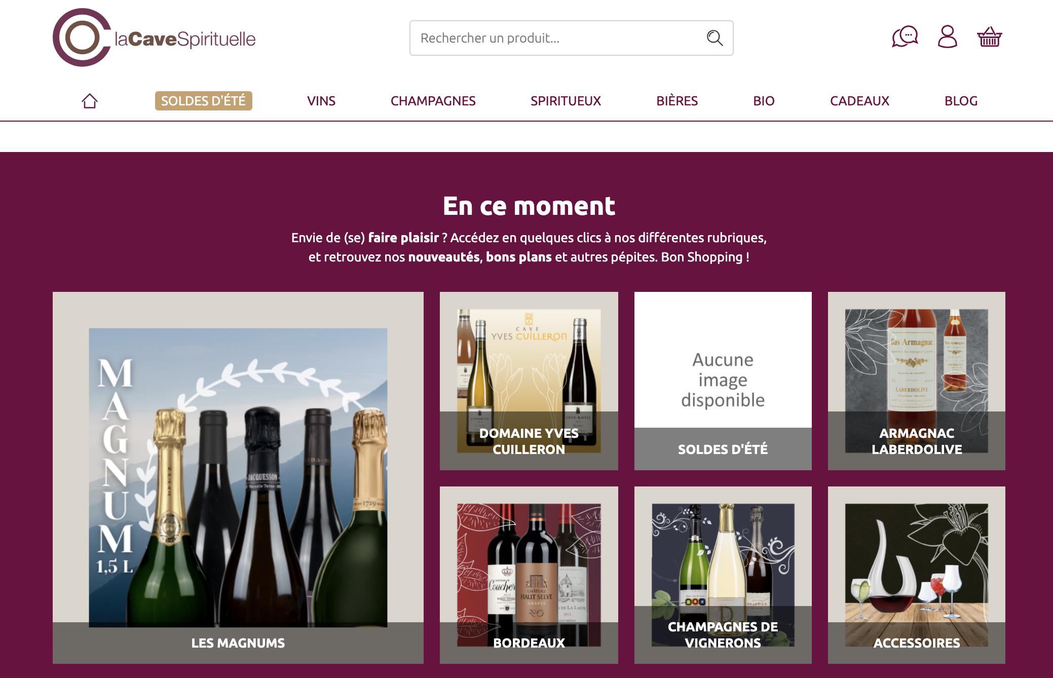 l'API Wino permet une connexion au site en ligne de la cave