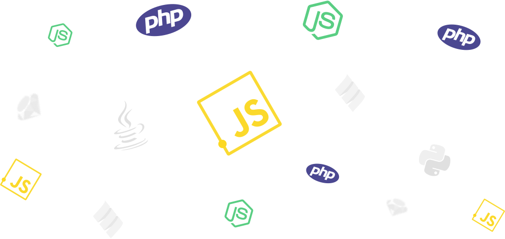 Choose your technology (Node.js, Javascript, Php, Ruby, Scala, Java, Python, Swift, Android, .net)