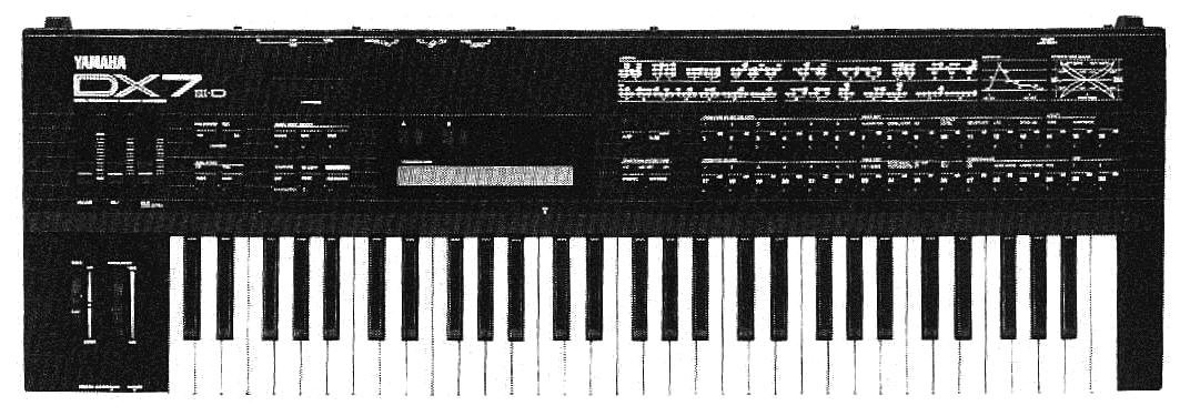 Yamaha DX7 II-FD FM keyboard
